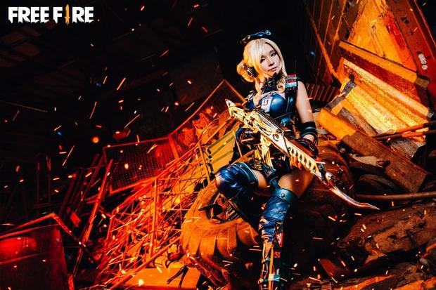Không hổ danh con cưng Garena, Free Fire luôn được ưu ái với hàng loạt bộ ảnh cosplay quảng bá chất như nước cất - Ảnh 26.