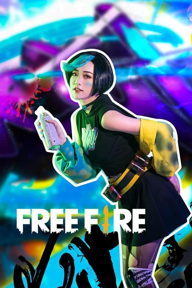 Không hổ danh con cưng Garena, Free Fire luôn được ưu ái với hàng loạt bộ ảnh cosplay quảng bá chất như nước cất - Ảnh 5.