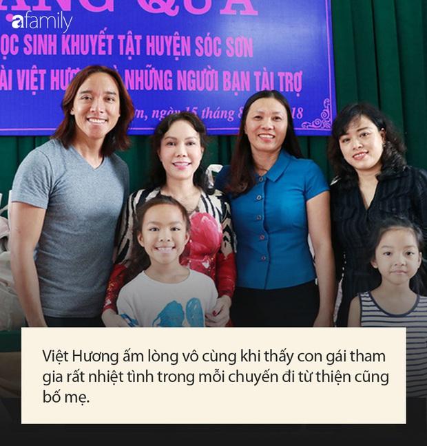 Con gái của Việt Hương: Nhỏ tuổi đã văn võ song toàn, năm nào cũng được bà mẹ nổi tiếng đưa về nước để làm điều đặc biệt này - Ảnh 6.