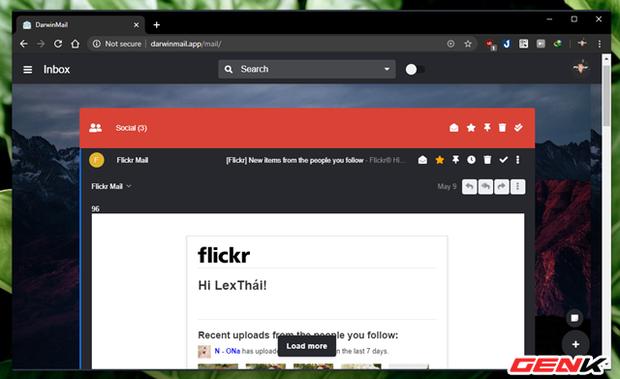 """Khoác """"áo"""" mới cho Gmail của bạn với mẹo làm mới giao diện cực đẹp đến từ Darwin Mail - Ảnh 7."""