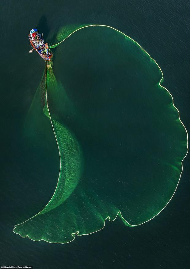 Cảnh người dân tung lưới đánh cá ở Phú Yên đầy mê hoặc được báo nước ngoài đăng tải và ca ngợi hết lời - Ảnh 7.