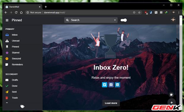 """Khoác """"áo"""" mới cho Gmail của bạn với mẹo làm mới giao diện cực đẹp đến từ Darwin Mail - Ảnh 9."""