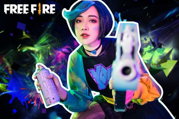 Không hổ danh con cưng Garena, Free Fire luôn được ưu ái với hàng loạt bộ ảnh cosplay quảng bá chất như nước cất - Ảnh 6.