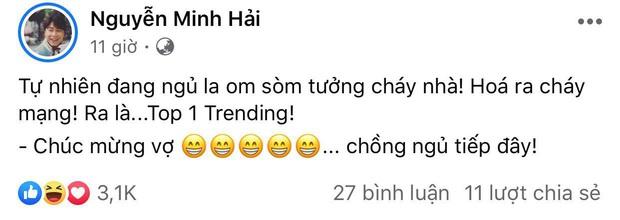 Bạn trai kể phản ứng của Hoà Minzy khi MV lên #1 trending Youtube giữa đêm, để lộ chi tiết gây chú ý sau tin đồn đã bí mật kết hôn? - Ảnh 4.