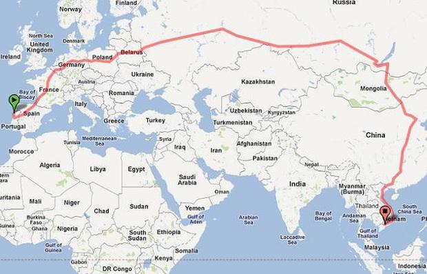 Ơ kìa, hoá ra Việt Nam chúng ta chính là điểm đến của chuyến tàu có quãng đường dài nhất thế giới, thế mà lại ít ai biết nhỉ? - Ảnh 1.