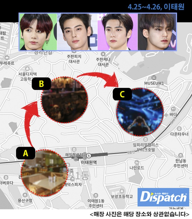 NÓNG: Dispatch khui bằng chứng Jungkook (BTS), Jaehyun và 2 idol tụ tập ở ổ dịch Itaewon, lên án lời đáp của công ty - Ảnh 2.