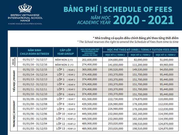 Học phí các trường quốc tế ở Hà Nội: Hàng trăm triệu đồng mỗi năm, cao nhất lên đến 730 triệu! - Ảnh 5.