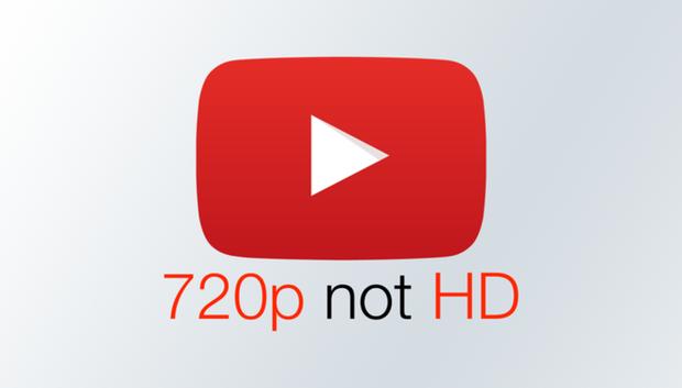 YouTube thay đổi định nghĩa độ phân giải video: 720p không phải HD, 1080p trở lên mới là HD - Ảnh 1.