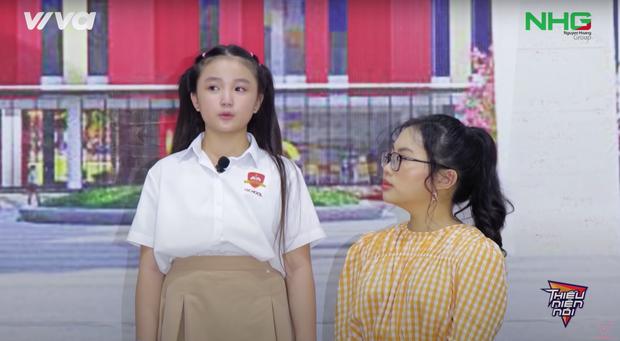 Nét xinh xắn của My Sa và cô trò trường quốc tế Quảng Ngãi gây ấn tượng mạnh trong chương trình Thiếu niên nói - Ảnh 2.