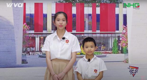 Nét xinh xắn của My Sa và cô trò trường quốc tế Quảng Ngãi gây ấn tượng mạnh trong chương trình Thiếu niên nói - Ảnh 4.