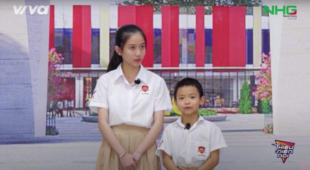 Nét xinh xắn của My Sa và cô trò trường quốc tế Quảng Ngãi gây ấn tượng mạnh trong chương trình Thiếu niên nói - Ảnh 5.