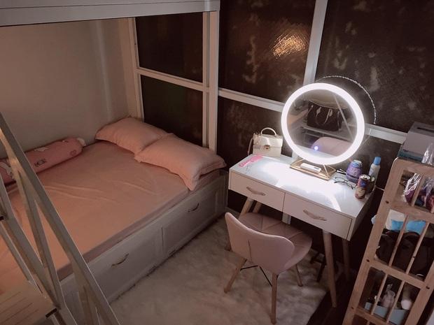 Cô gái chi 25 triệu cải tạo gian bếp ẩm thấp thành phòng ngủ xinh xắn, tốn tiền nhưng ở thấy thoải mái nên vẫn vui - Ảnh 4.