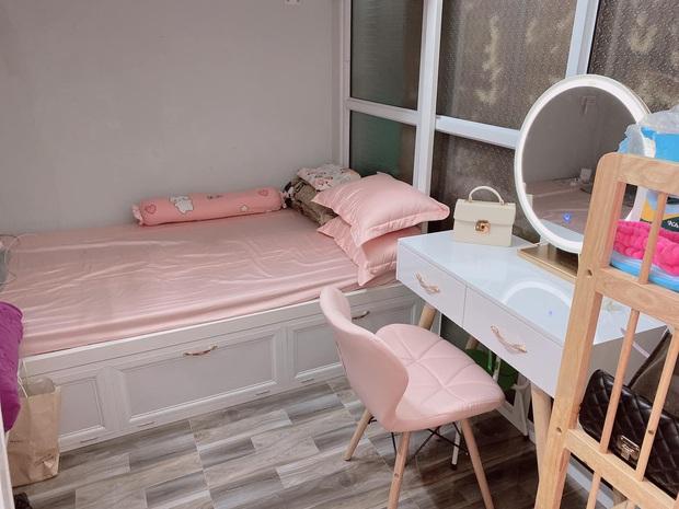 Cô gái chi 25 triệu cải tạo gian bếp ẩm thấp thành phòng ngủ xinh xắn, tốn tiền nhưng ở thấy thoải mái nên vẫn vui - Ảnh 5.