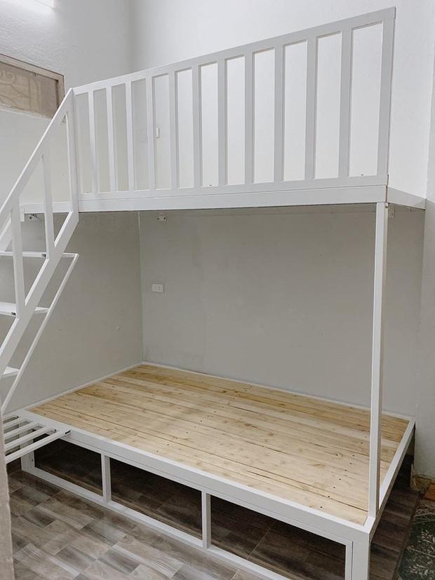 Cô gái chi 25 triệu cải tạo gian bếp ẩm thấp thành phòng ngủ xinh xắn, tốn tiền nhưng ở thấy thoải mái nên vẫn vui - Ảnh 3.
