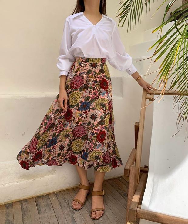 10 thiết kế chân váy mỏng mát, cực chanh sả lại tôn chân dài miên man, quan trọng nhất là có mẫu đang sale chỉ hơn 100k - Ảnh 1.
