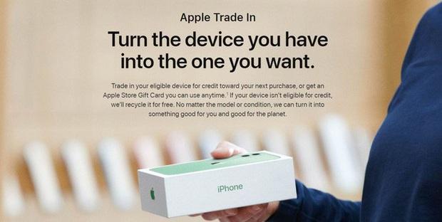 Apple ra cho phép bù tiền đổi máy cũ lấy iPhone mới, nhưng định giá hàng Android thấp không thể tưởng tượng nổi - Ảnh 1.