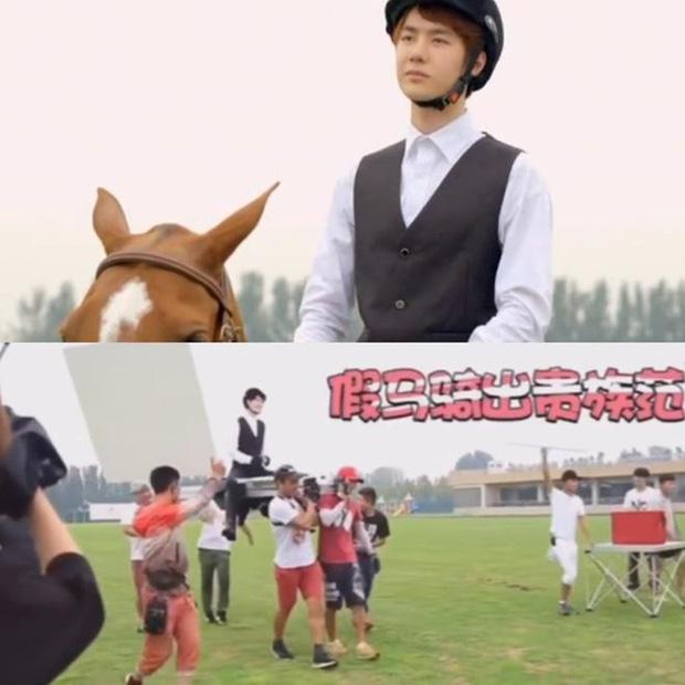 Ngã ngửa với hậu trường cưỡi ngựa của phim Hoa ngữ: Xem xong mới biết mình bị lừa đau đớn thế nào! - Ảnh 12.
