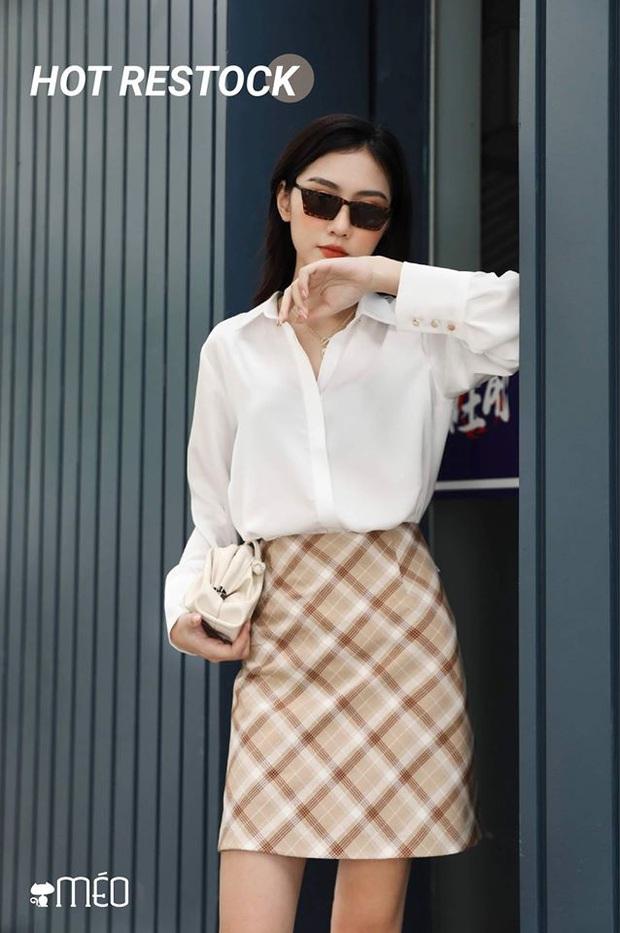 Nàng BTV cứ mỗi lần đi shopping là phải mua sơ mi trắng, mách luôn các chị em vài địa chỉ áo đẹp giá ổn - Ảnh 12.