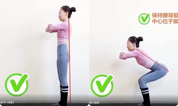 Nếu tập squat mà mông vẫn lép, đùi lại cứ to phạc thì chắc chắn chị em đã mắc phải lỗi sai cơ bản này - Ảnh 5.