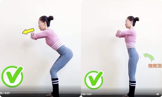 Nếu tập squat mà mông vẫn lép, đùi lại cứ to phạc thì chắc chắn chị em đã mắc phải lỗi sai cơ bản này - Ảnh 6.