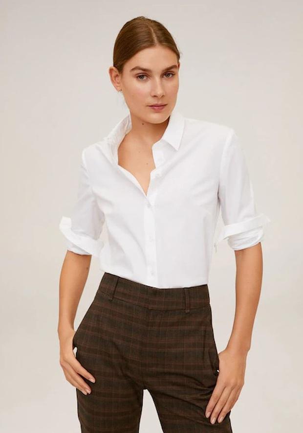Nàng BTV cứ mỗi lần đi shopping là phải mua sơ mi trắng, mách luôn các chị em vài địa chỉ áo đẹp giá ổn - Ảnh 8.