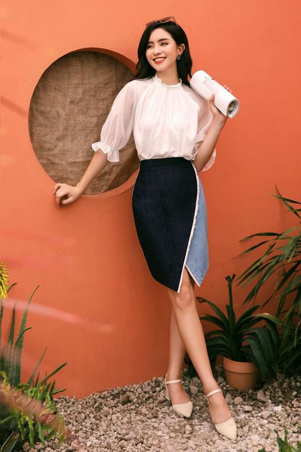 10 thiết kế chân váy mỏng mát, cực chanh sả lại tôn chân dài miên man, quan trọng nhất là có mẫu đang sale chỉ hơn 100k - Ảnh 9.