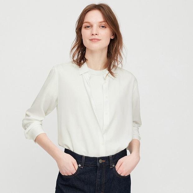Nàng BTV cứ mỗi lần đi shopping là phải mua sơ mi trắng, mách luôn các chị em vài địa chỉ áo đẹp giá ổn - Ảnh 10.