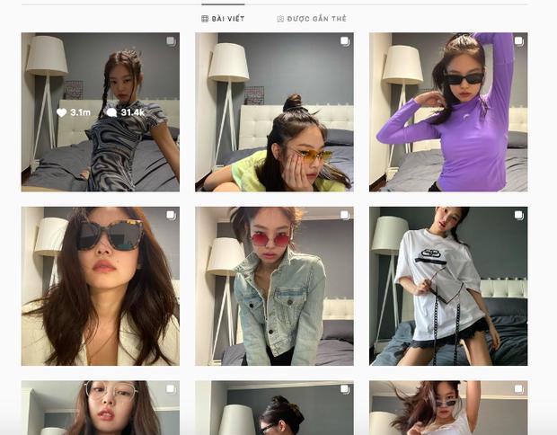 Nửa đêm Jennie (BLACKPINK) spam cả BST ảnh, rinh 25 triệu like: Thay 101 bộ đồ hiệu, selfie lăn lộn trên giường, sốc vì body - Ảnh 12.