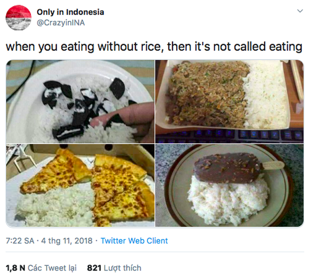 """Ai cũng biết cơm là món được ưa chuộng rộng rãi nhưng để đến độ """"phát cuồng"""" như người dân quốc gia này thì thật khó tưởng tượng nổi! - Ảnh 1."""