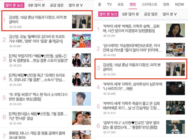Mẹ Kim Tan chiếm top Naver từ tối qua đến nay vì lần đầu khoe quý tử hào môn, 16 tuổi mà đã cao hơn mẹ cả cái đầu - Ảnh 5.