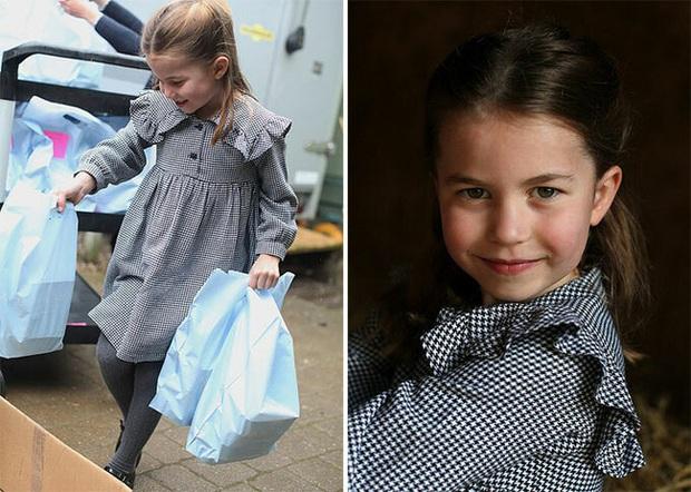 Hôm nay Công chúa Charlotte tròn 5 tuổi, xuất hiện trong bộ ảnh độc đáo và ý nghĩa chưa từng thấy - Ảnh 2.