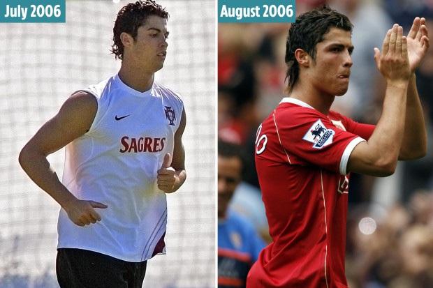 Ronaldo và mùa hè kỳ lạ thay đổi hoàn toàn bản thân: Cậu nhóc mảnh khảnh, yếu đuối bỗng vươn mình thành người đàn ông thực thụ, gã quái thú khiến ai cũng khiếp sợ - Ảnh 1.
