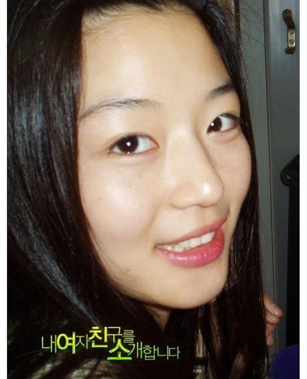 Zoom cận mặt mộc của mợ chảnh Jeon Ji Hyun thời trẻ măng: Da lấm tấm tàn nhang vẫn đẹp không thốt nên lời - Ảnh 3.