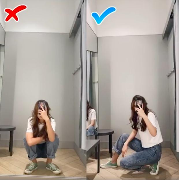 3 chiêu pose ảnh tại phòng thử đồ sang chảnh, xịn sò mà mọi cô nàng mê sống ảo phải biết - Ảnh 4.