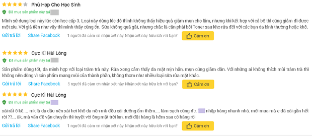 """4 sữa rửa mặt Việt Nam đúng chuẩn ngon bổ rẻ, xem xong loạt review từ người dùng thì ai cũng muốn """"múc"""" ngay một em - Ảnh 10."""