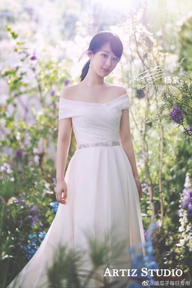 So kè mỹ nhân Cbiz khi diện váy cưới: Nhiệt Ba bốc lửa chẳng cần photoshop, Dương Tử muối mặt vì bị tố chi tiết đáng ngờ - Ảnh 3.