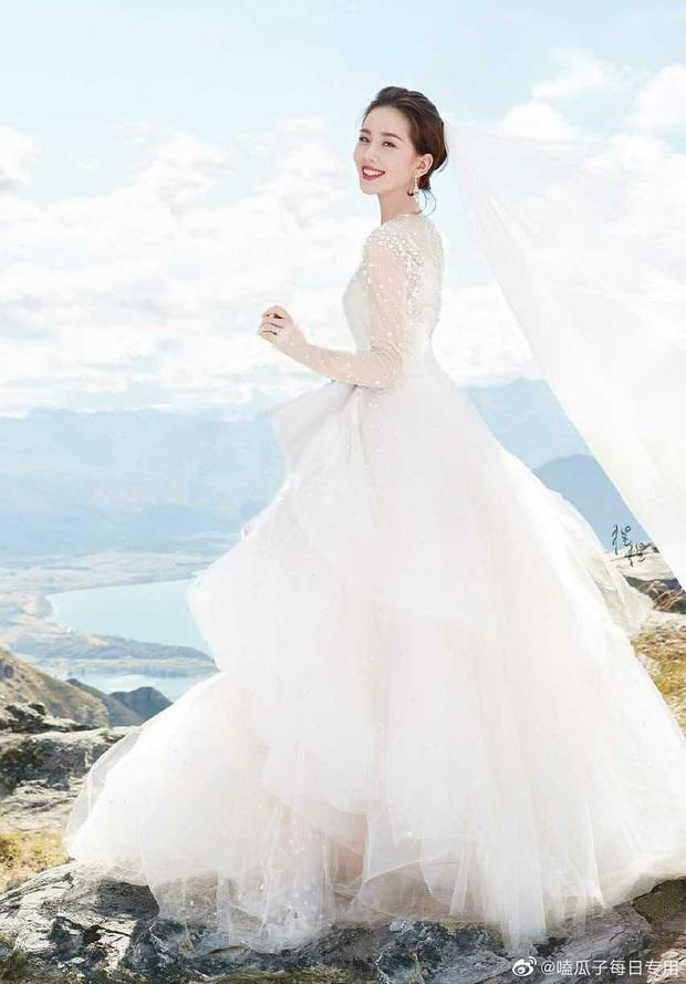 So kè mỹ nhân Cbiz khi diện váy cưới: Nhiệt Ba bốc lửa chẳng cần photoshop, Dương Tử muối mặt vì bị tố chi tiết đáng ngờ - Ảnh 10.