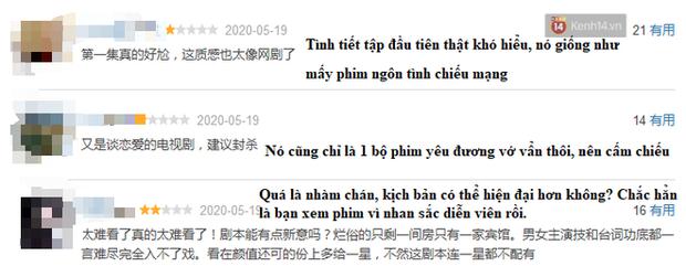 Hạnh Phúc Trong Tầm Tay vừa lên sóng đã bị netizen Trung chê tơi tả, rating giảm mạnh khi Hoàng Cảnh Du xuất hiện - Ảnh 5.