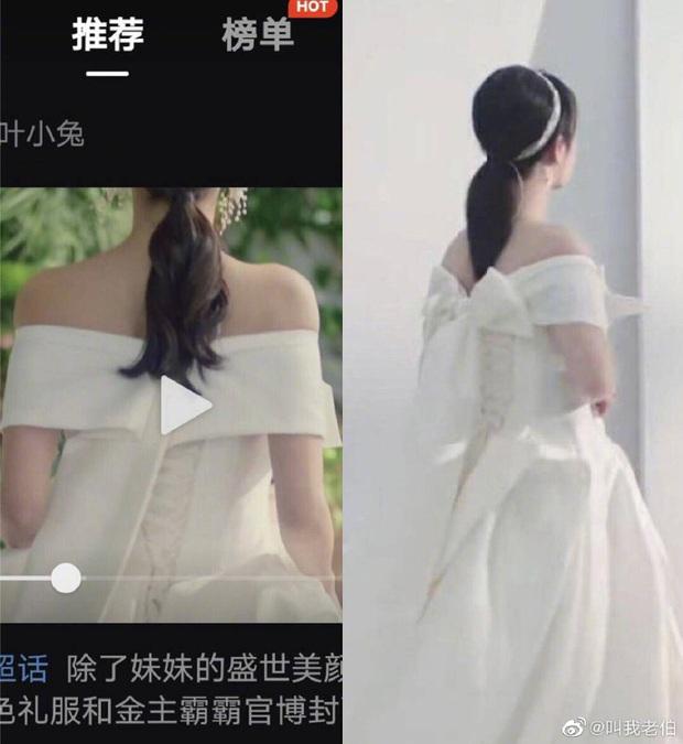 So kè mỹ nhân Cbiz khi diện váy cưới: Nhiệt Ba bốc lửa chẳng cần photoshop, Dương Tử muối mặt vì bị tố chi tiết đáng ngờ - Ảnh 4.