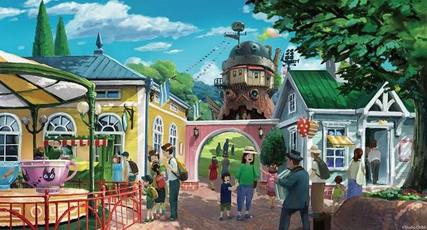 """HOT: Nhật Bản sắp ra mắt công viên chủ đề Ghibli mang cả thế giới hoạt hình ra ngoài đời thật, nhìn ảnh """"nhá hàng"""" mà dân mạng phải điêu đứng - Ảnh 9."""