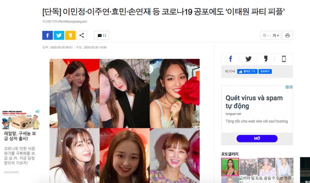 NÓNG: Minh tinh Vườn sao băng bị tố quẩy tiệc xa hoa với Hyomin, bạn gái G-Dragon và hội bạn mỹ nhân ở ổ dịch Itaewon - Ảnh 2.