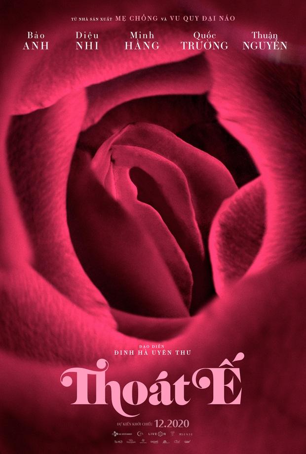 Bảo Anh - Quốc Trường bất ngờ tổ chức đám cưới, ấp ôm tình tứ tại họp báo ra mắt phim Thoát Ế - Ảnh 9.