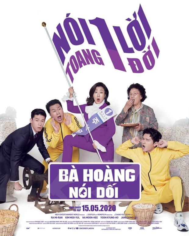 Review BÀ HOÀNG NÓI DỐI: Phim hài hay xuất sắc của quý bà da báo và bà ngoại quốc dân xứ Hàn - Ảnh 1.