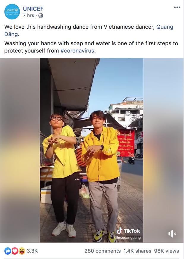 Sau Vũ điệu rửa tay gây sốt truyền thông quốc tế, Quang Đăng được WHO để mắt với hoạt động đặc biệt  - Ảnh 5.