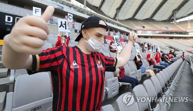 Đặt búp bê tình dục lên khán đài để thay khán giả, đội bóng Hàn Quốc bị phạt 1,9 tỷ đồng - Ảnh 2.