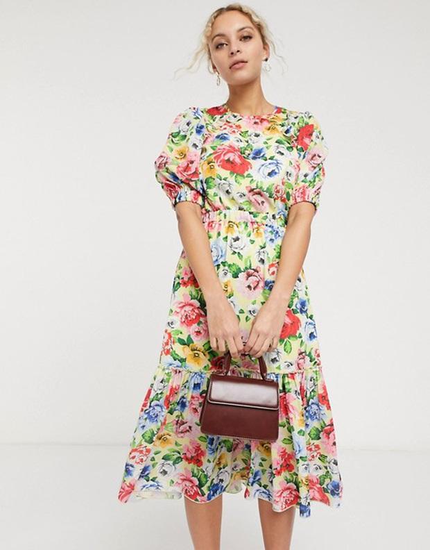 Hà Tăng diện váy hoa bình dân xinh lịm tim, chị em đu theo cực đơn giản nhờ loạt thiết kế từ Zara, Mango, ASOS này - Ảnh 10.