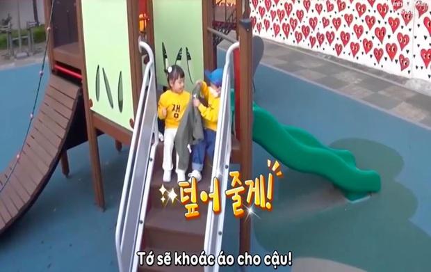 Đúng là con trai Kang Gary có khác, loveline trên show thực tế cũng giống y đúc bố thế này! - Ảnh 6.