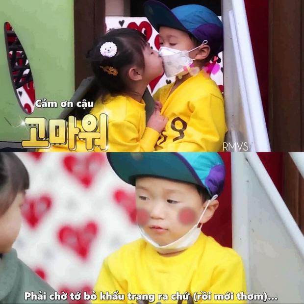 Đúng là con trai Kang Gary có khác, loveline trên show thực tế cũng giống y đúc bố thế này! - Ảnh 7.