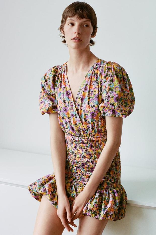 Hà Tăng diện váy hoa bình dân xinh lịm tim, chị em đu theo cực đơn giản nhờ loạt thiết kế từ Zara, Mango, ASOS này - Ảnh 6.