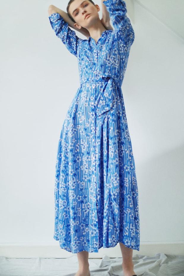 Hà Tăng diện váy hoa bình dân xinh lịm tim, chị em đu theo cực đơn giản nhờ loạt thiết kế từ Zara, Mango, ASOS này - Ảnh 7.